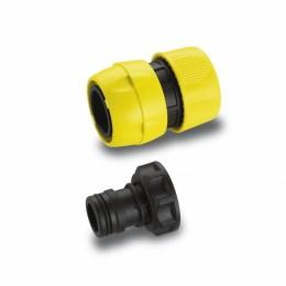 Комплект Premium для подключения шлангов 3/4, коннектор быстросъемный, штуцер G1 ВР