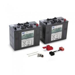 Комплект аккумуляторов (2 шт) к поломоечной машине, 105 Ач, 24В