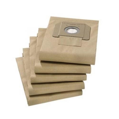 Фильтр-мешки бумажные прочные ЦЕМЕНТ для NT  27/1, 360, 361, 35/1, 5 шт