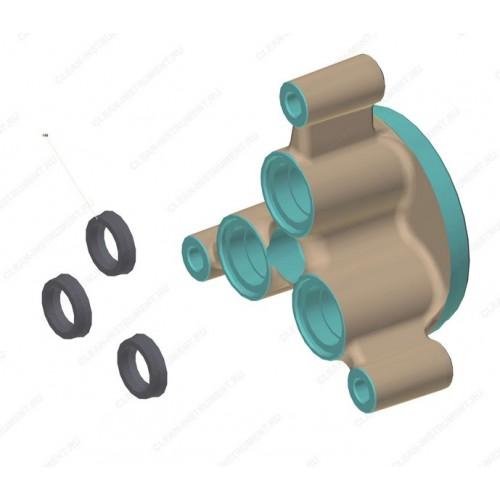Помпа (средняя часть, блок клапанов) в сборе Karcher K7