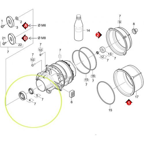 Уплотнительное кольцо 20х37х8 Karcher