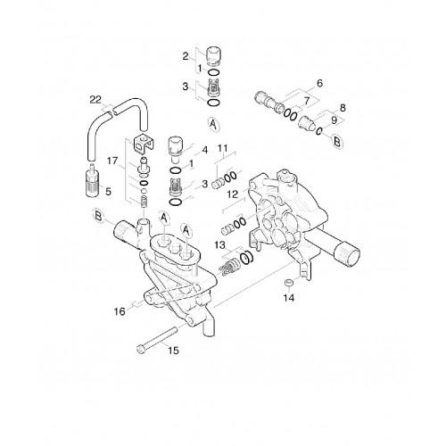 Комплект клапанов Karcher 3 шт
