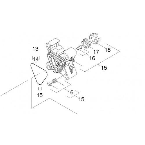 Уплотнительное кольцо Karcher 12x20x5